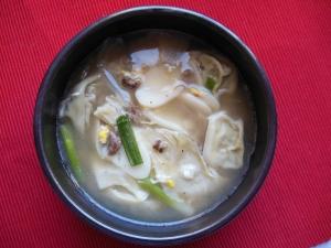 Rice Cake & Dumpling Soup