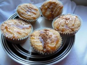 Caramel Apple Cider Muffins
